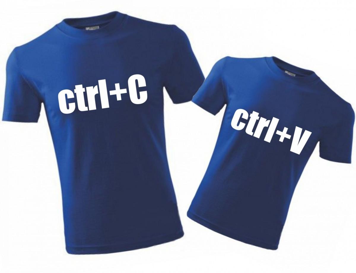 13294ff341 Family T-Shirts - ctrl+C a ctrl+V ǀ Fajntričko.com