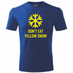 T-shirt - Don't eat yellow snow