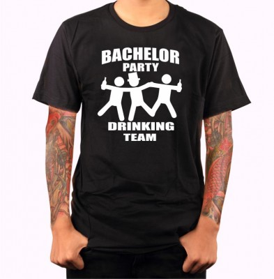 T-shirt - Bachelor party (DRINKING TEAM)