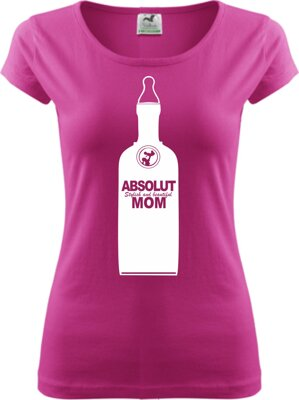 Woman's t-shirt - ABSOLUT MOM