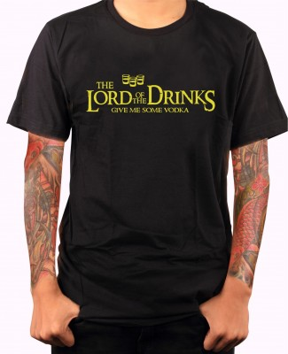 T-shirt - The Lord of the Drinks