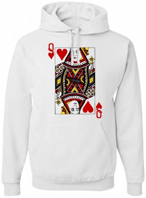 Hoodie - Queen - Royal card
