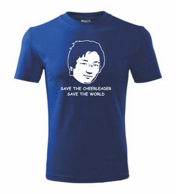 T-shirt - Save the cheerleader, save the world - Heroes