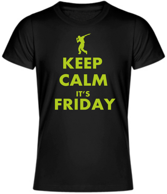 T-shirt - KEEP CALM IT'S FRIDAY