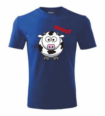 T-shirt - Cow Moo!