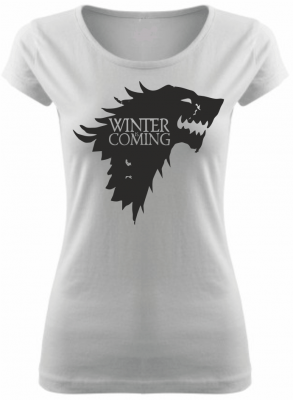 Woman's tshirt - Winter is Coming