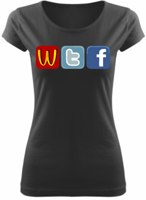 Women's T-shirt - WTF Social sites
