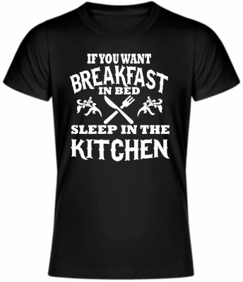 T-shirt - Breakfast in bed