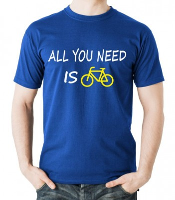 T-shirt - All you need is bike