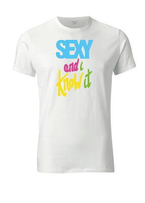 I am sexy and i know it - T-shirt