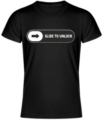 T-shirt - Slide to unlock