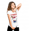 T-shirt - Good bye Kitty (women)