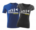 T-shirt - Snowboarding evolution