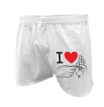 Men's boxers - I love sex - fingers