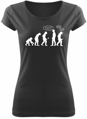 T-shirt Go back! - evolution (women)