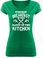Women's T-shirt - Breakfast in bed