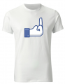 T-shirt - (fuck) like FB
