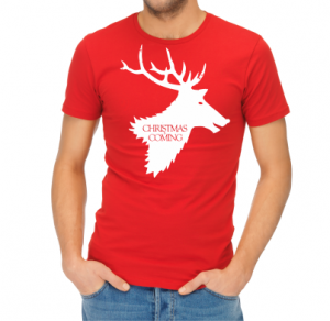 T-shirt - Christmas is coming