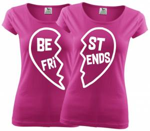 Women's friendships t-shirts - BEST FRIENDS - Heart  :)