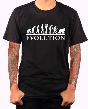 T-shirt Alcohol evolution