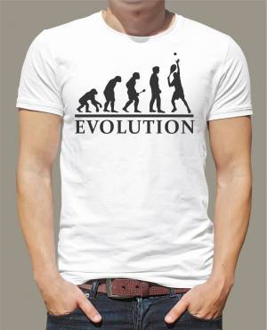 T-shirt Tennis evolution
