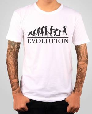 T-shirt Wedding evolution
