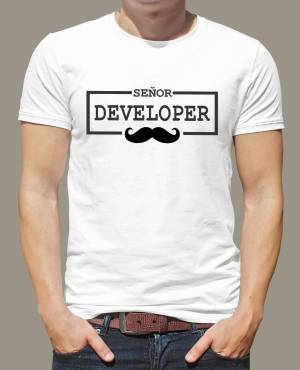 T-shirt - Seňor Developer