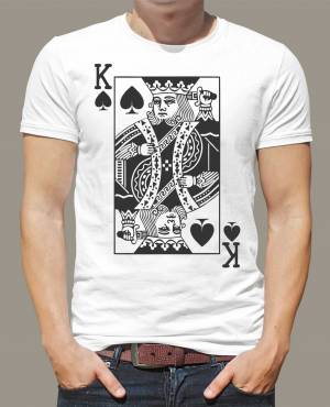 T-shirt - King - Royal card