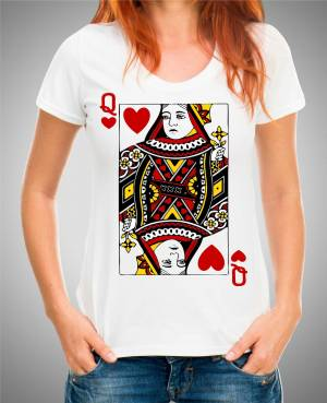 T-shirt - Queen - Royal card