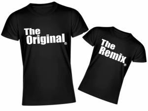 Family T-Shirts - The Original and The Remix