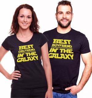 Partner tshirts - The best boyfriend/girlfriend in the galaxy