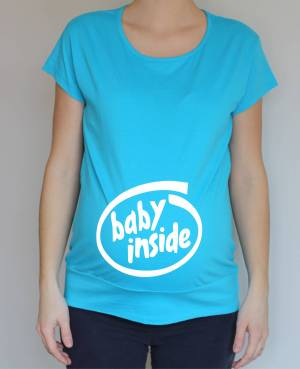 Pregnancy t-shirt - baby inside