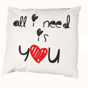Pillowcase - All i need is you
